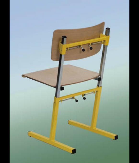 Výškově stavitelná školní židle ADAM